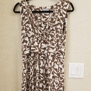 PURE collection Jersey maxi dress sleeveless 8/10